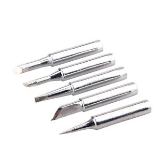 High Quality Store New 5PCS Solder Screwdriver Iron Tip 900M-T forHakko Soldering Rework Station Tool