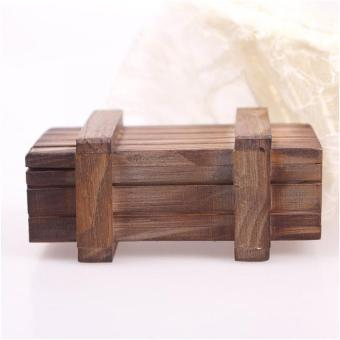 High Quality Store New Magic Wooden Puzzle Box Puzzle Wooden SecretTrick Intelligence Compartment Gift