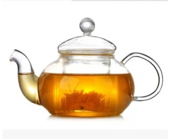 HIGH-TEMPERATURE resistant heat-resistant glass filter kung fu kettle tea teapot