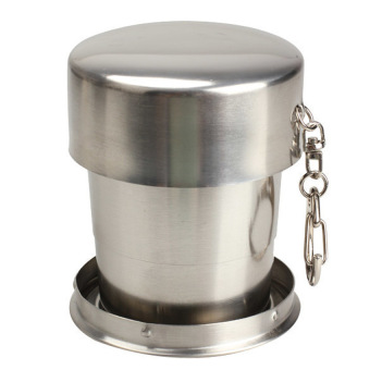 HKS Stainless Steel Stretchable Cup Drinking Magic Mugs Goblet for Traveling (Intl)