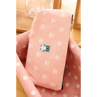 HKS Student Creative Pen Pencil Case Pink (Intl)
