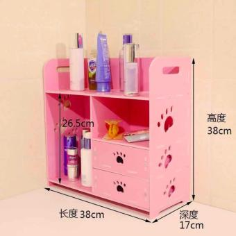 Exceptional Home Bookshelf Toiletries Makeup Accessories Storage Rack  A1 Philippines