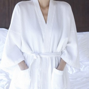 Home cotton sauna spa beauty clothes bathrobe