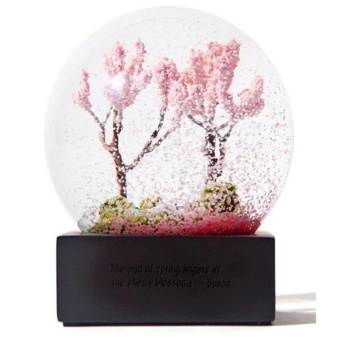 Home Decoration Snow Globe,Spring - intl