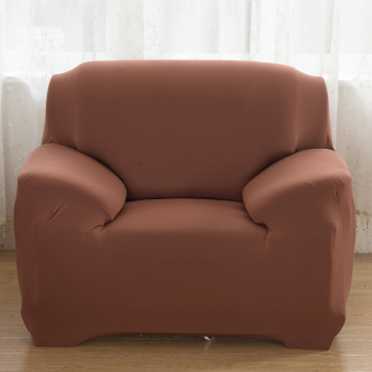 Home Furniture Chair Loveseat Sofa Couch Stretch Protect CoverSlipcover Light Tan 1 Seater