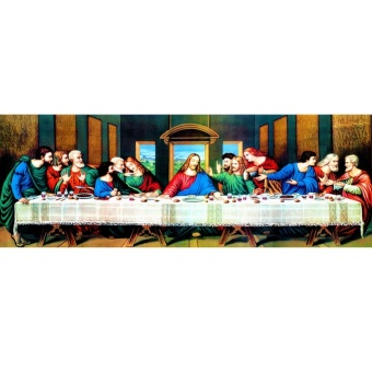 Home Living Paintings The Last Supper 5D Diamond Diy Painting CraftHome Decor - intl