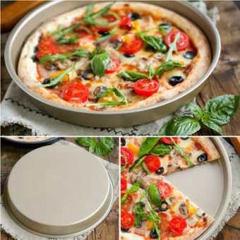 Home oven dish baking Pizza Pan baking Mold