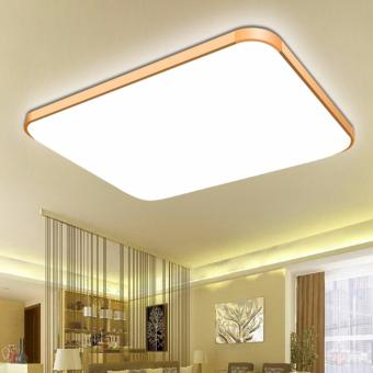 Home Ultra-thin 24W Modern Minimalist Acrylic LED Lamp Study Room Bedroom Lamp Balcony Entrance Lamp (Warm white)- Intl