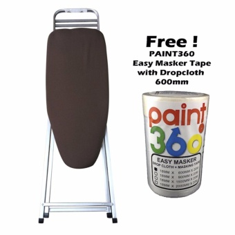 HOME360 Ironing Board U Stand Featherlight 30in + PAINT360 Easy Masker Tape with Dropcloth 600mm