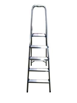 Homecare 5-Step Ladder (Silver)