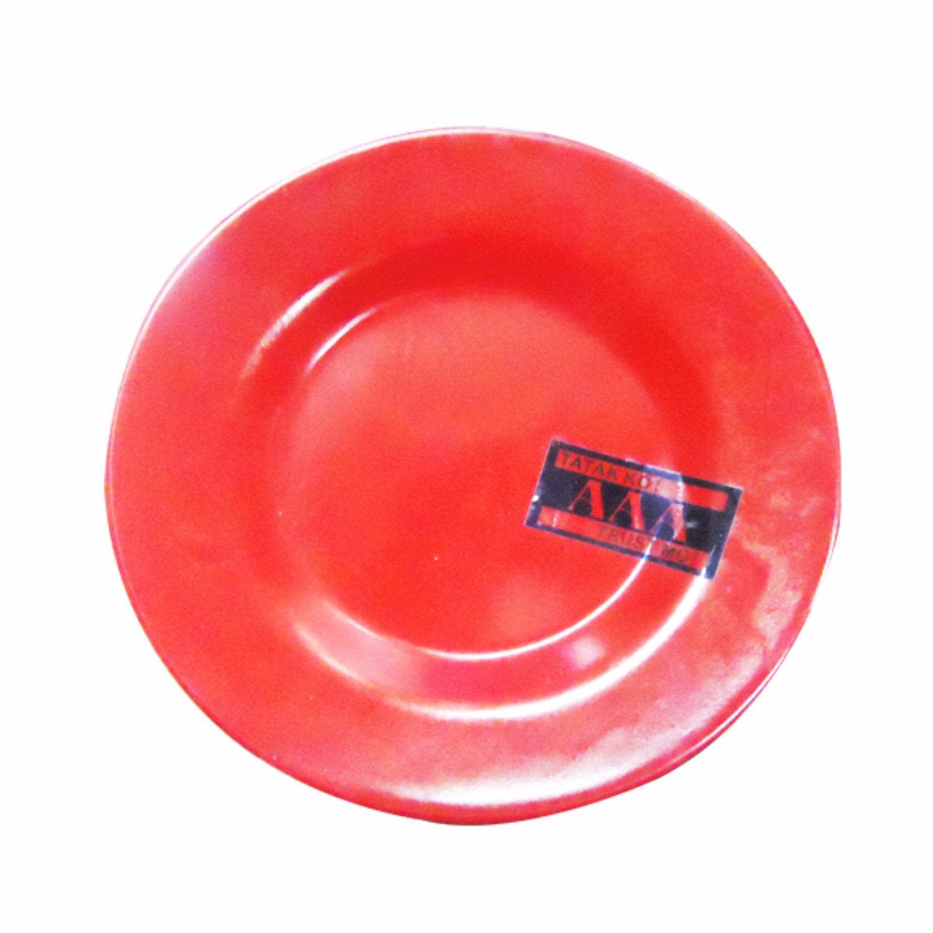 Homex Saucer Plate No.255 Set 6pcs