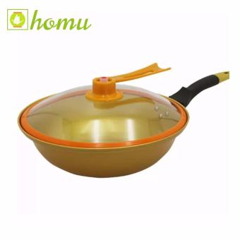 Homu Korean Golden Vacuum Skillet 32cm
