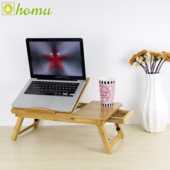 Homu Wooden Laptop Table Lotus 50x30