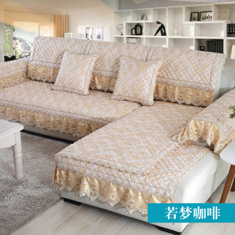 Hongyuanfengshang Four Seasons fabric sofa cushion