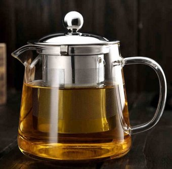 Hot Selling Drinkware 600ml Teapot Glass Tea Pot High Quality Tea Set