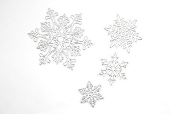 Hot Snowflakes Metal Die Cutting Dies for Scrapbooking Embossing Card Making Paper Crafts DIY Suitable for Cutting Machine