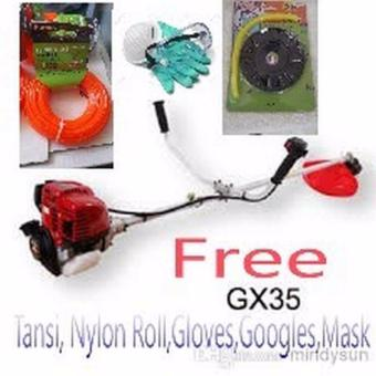 Hoyoma Brush Cutter GX35 4 stroke DUAL Head Freebies