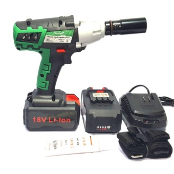 Hoyoma Cordless Impact Rechargeable Wrench 22MM 18V (Green) Price Philippines