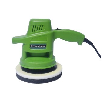 "Hoyoma Japan 7"" Car Polisher Buffing Machine (Green)"