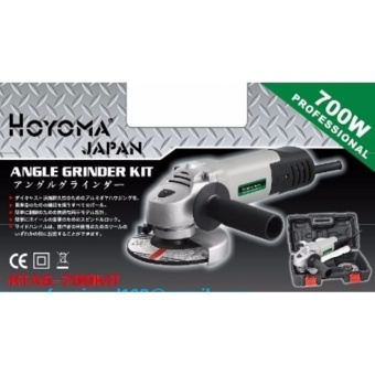 Hoyoma Japan Angle Grinder Kit HTAG-700KIT (Greay/Silver) Price Philippines