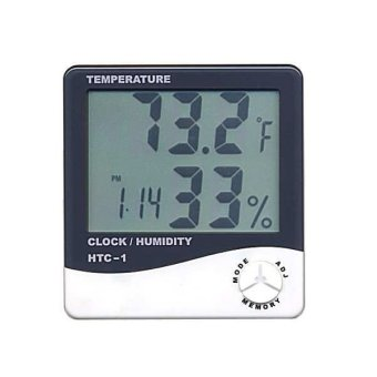 HTC-1 Portable Hygrometer and Thermometer for Humidity Monitoring