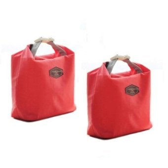 Iconic Lunch Bag set of 2- red Price Philippines
