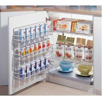 Ideal Home 450 Mini Pantry (Chrome Plated)