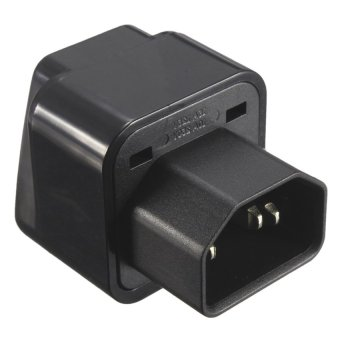 IEC 320 C14 to UK US AU Female Power Adapter AC PowerPlug Connector