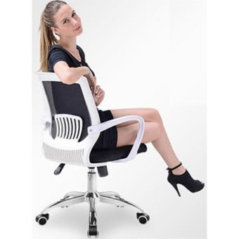 ihome 4033 Mesh Office Chair (Red) - 5