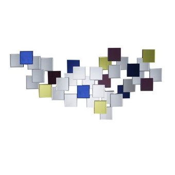 ihome GD9433 Glass Wall Mirror(Multicolor)