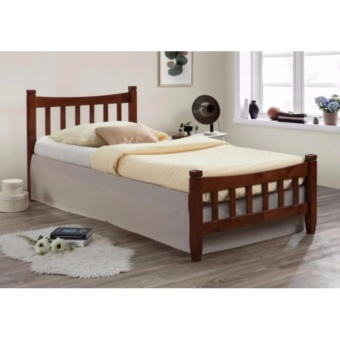 "ihome S 60""x75"" Rubber Wood Bed Price Philippines"