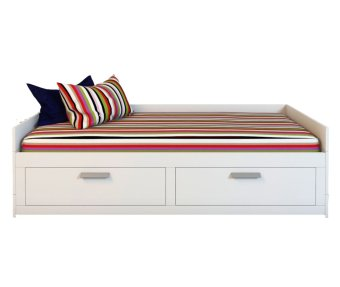 Ikea Brimnes Extendable 4-in-1 Daybed (White)