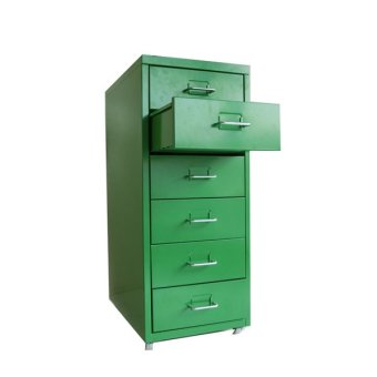 Ikea Helmer Drawer with Wheels (Green) - 2