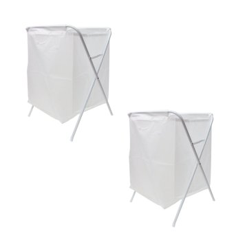 IKEA JALL Laundry Bag (White) Set of 2