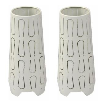 Ikea Kajuta Table Lamp White set of 2