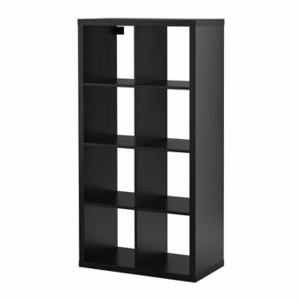 Ikea Kallax Shelving Unit 2 x 4 (Black-Brown)