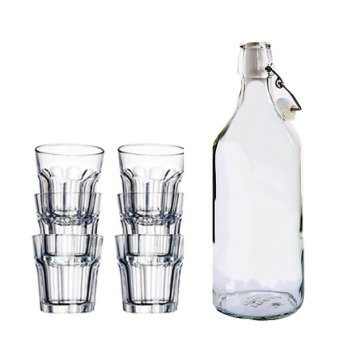 Ikea Korken Pokal Drinkware Set of 7 Price Philippines