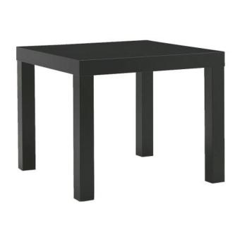 IKEA Lack Side Table, Black