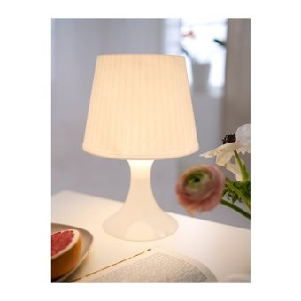 Ikea Lampan Table Lamp (White)