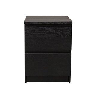 Ikea malm chest of 2 drawers black brown lazada ph for Ikea black malm