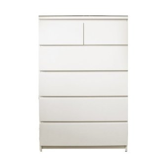 Ikea Malm Chest of 6 Drawer Tall (White)