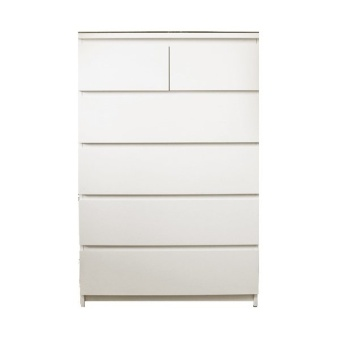 Ikea Malm Tall Chest of 6 (White)