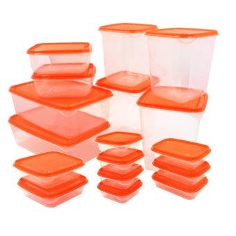 IKEA Pruta Foodsaver 17-Piece Set (Orange)