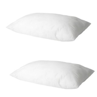 Ikea Slan Softer Pillow Set of 2 (White)