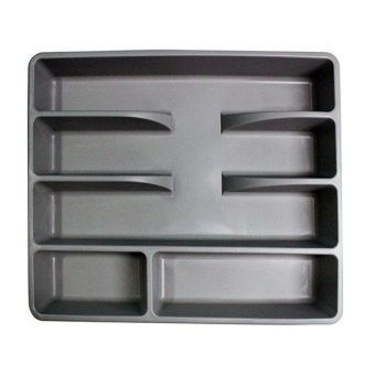 Ikea Smacker Cutlery Tray (Gray)