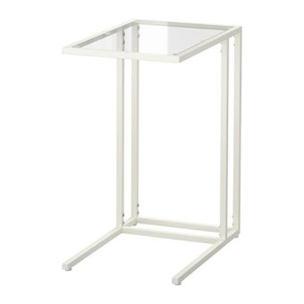 Ikea Vittsjo L-Shaped Side Table (White)