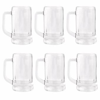 Harga Ocean Glassware Lugano 11oz Beer Mug Set of 6 (1P00740)