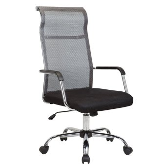 Harga Ergodynamic EHC-167 High Back Mesh Office Chair Furniture (Black)