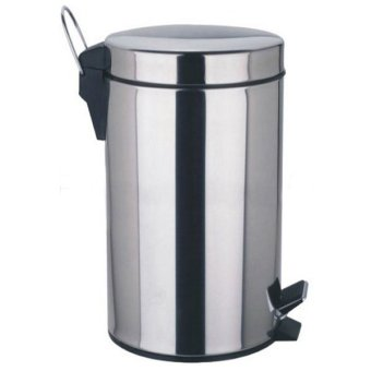 Lifestyle Waste Bin 12 Liters Stainless Steel Price Philippines