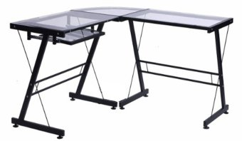 Harga L-Shaped Computer Table